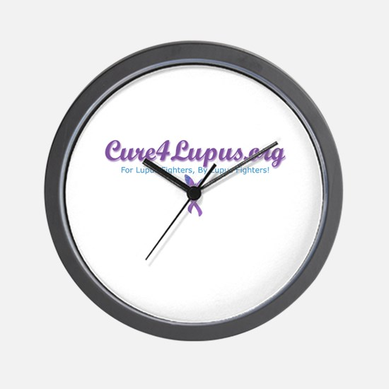 Cure4Lupus.org Addy Wall Clock