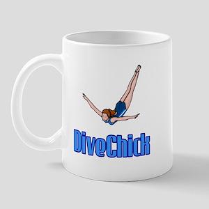 DiveChick Logo Mug