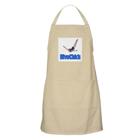 DiveChick Logo BBQ Apron