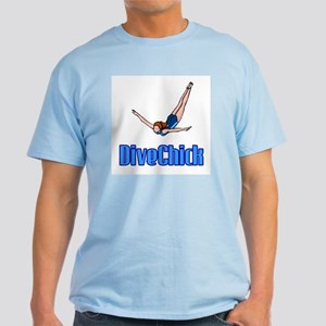DiveChick Logo Light T-Shirt