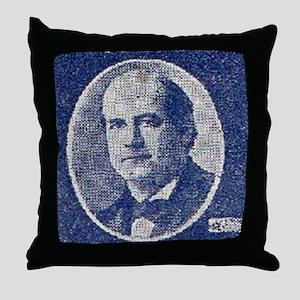 ART WJ BRYAN for PRESIDENT Throw Pillow