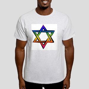 LGBT Star Of David Light T-Shirt