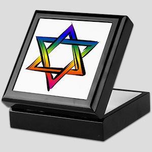 LGBT Star Of David Keepsake Box