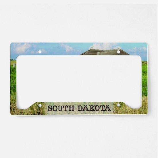barn01 License Plate Holder