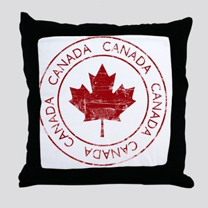vintageCanada5 Throw Pillow