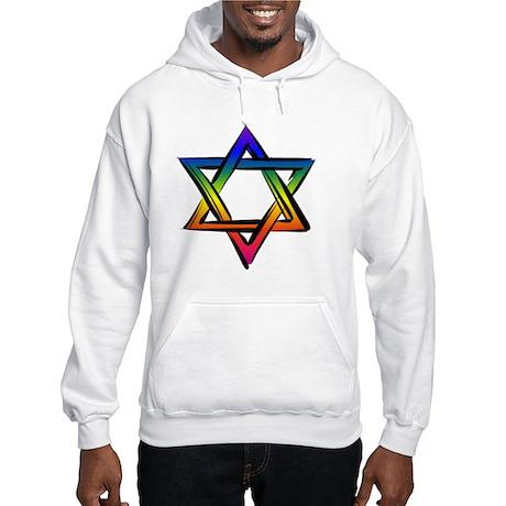 Star Of David 2 Hooded Sweatshirt