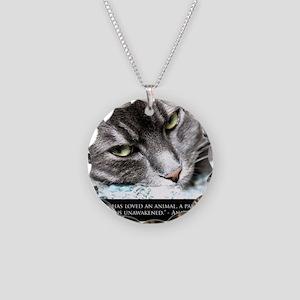cat_soul_awakening_sq Necklace Circle Charm