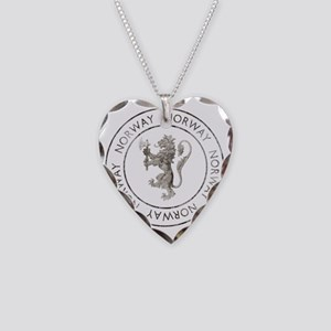 vintageNorway7 Necklace Heart Charm