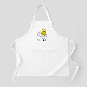 CHICKS RULE BBQ Apron