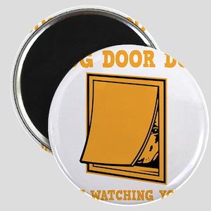 dog-door-dog-DKT Magnet