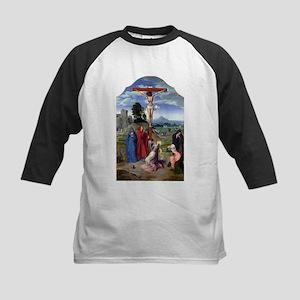 The Crucifixion - Quinten Massys - c 1520 Kids Bas