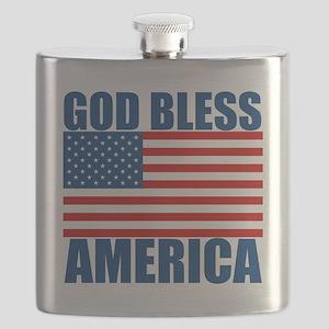 GODBLESSAMERICA Flask