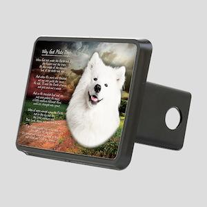 godmadedogs(laptop) Rectangular Hitch Cover