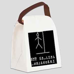 hangman-death-TIL Canvas Lunch Bag