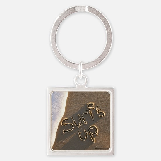 surfs up Square Keychain