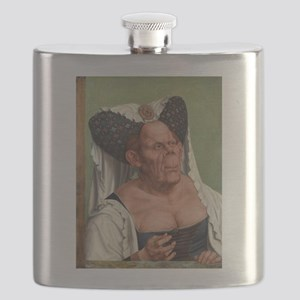 The Ugly Duchess - Quinten Massys - c 1520 Flask
