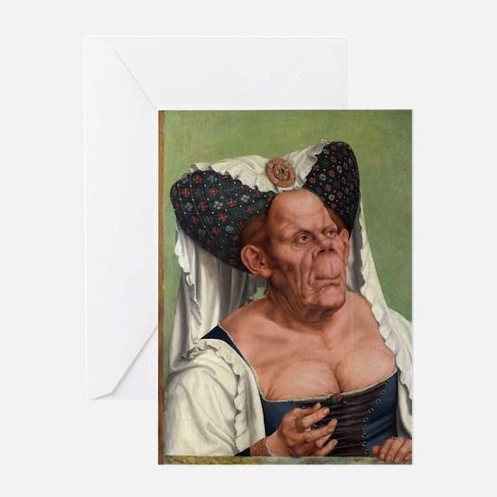 The Ugly Duchess - Quinten Massys - c 1520 Greetin