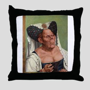 The Ugly Duchess - Quinten Massys - c 1520 Throw P
