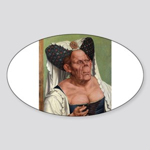 The Ugly Duchess - Quinten Massys - c 1520 Sticker
