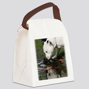Staffordshire Bull Terrier 9Y773D Canvas Lunch Bag