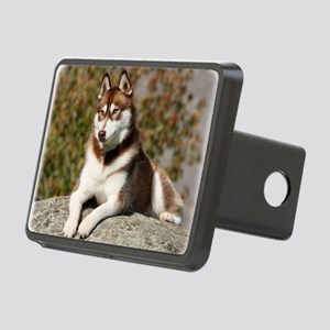 Siberian Husky 9Y773D-064 Rectangular Hitch Cover