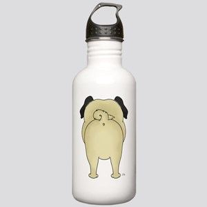 PugShirtBack Stainless Water Bottle 1.0L