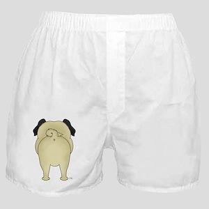 PugShirtBack Boxer Shorts