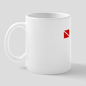 ScubaDiveWhite Mug