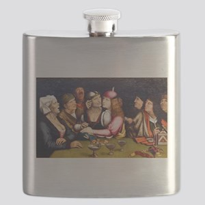 Unequal Marriage - Quinten Massys - c 1520 Flask