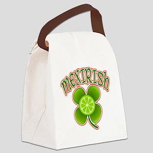 mexirish-lime Canvas Lunch Bag