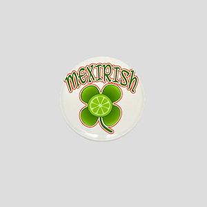 mexirish-lime Mini Button
