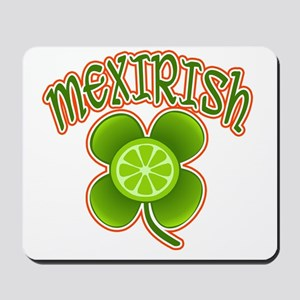 mexirish-lime Mousepad