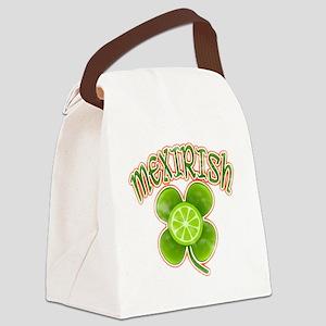 mexirish-lime-vintage Canvas Lunch Bag