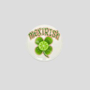 mexirish-lime-vintage Mini Button