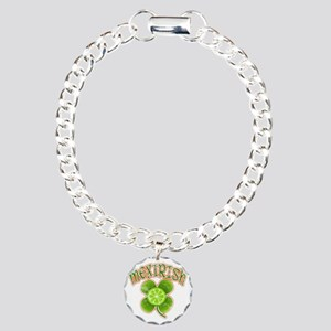 mexirish-lime-vintage Charm Bracelet, One Charm