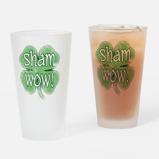 shamwow vintage Drinking Glass