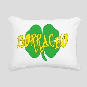 borracho Rectangular Canvas Pillow
