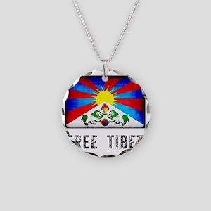 tibet30 Necklace Circle Charm