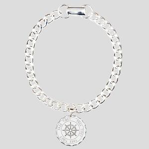 tibet31Bk Charm Bracelet, One Charm