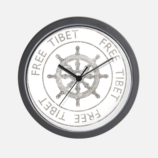 tibet31Bk Wall Clock