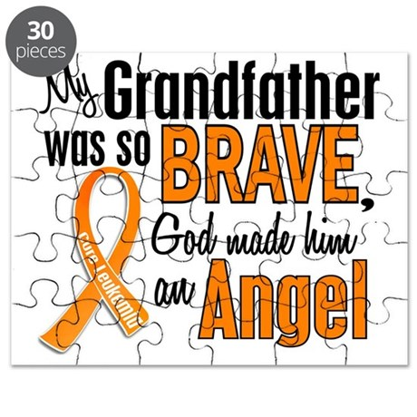 Angel Grandfather Leukemia Puzzle