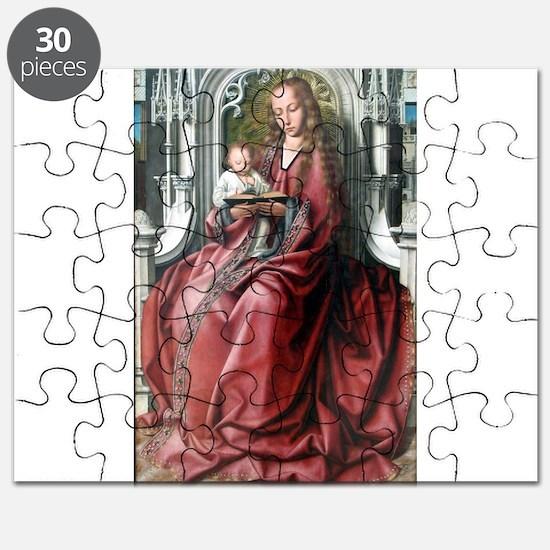 Virgin with Child - Quinten Massys - c 1520 Puzzle