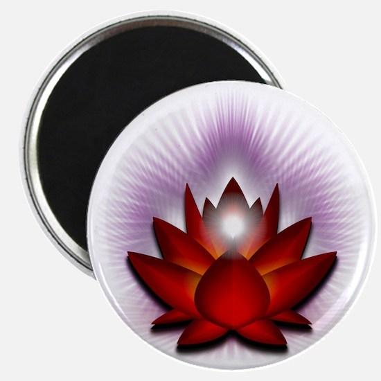 Chakra Lotus - Red Magnet