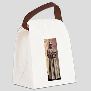 Saint Benedict - Piero della Francesca Canvas Lunc