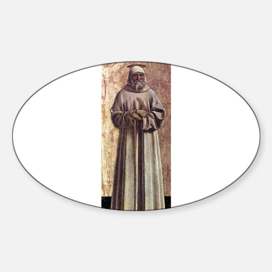 Saint Benedict - Piero della Francesca Decal