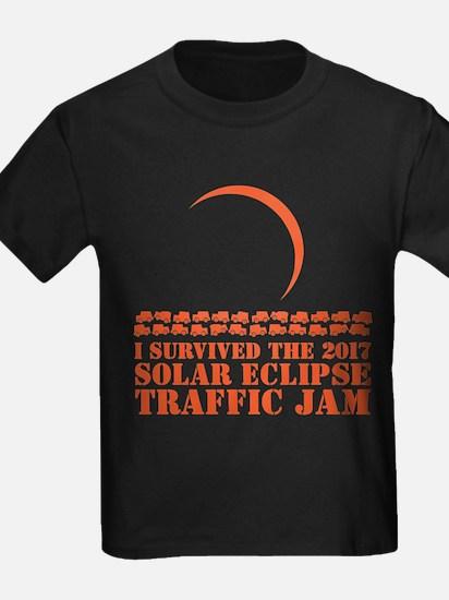 I Survived 2017 Solar Eclipse Traffic Jam T-Shirt