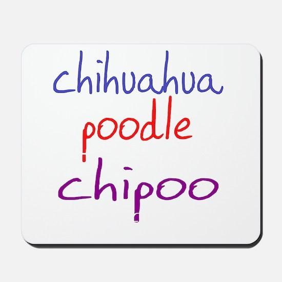 chipoo_black Mousepad