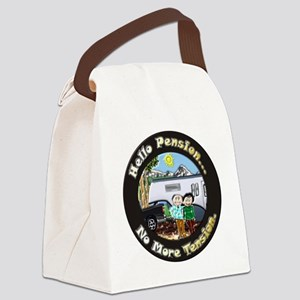 HelloPension3 12x12 Canvas Lunch Bag