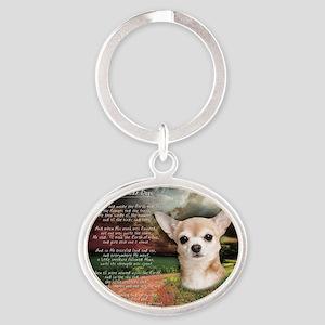 godmadedogs Oval Keychain