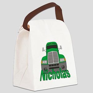 nicholas-b-trucker Canvas Lunch Bag